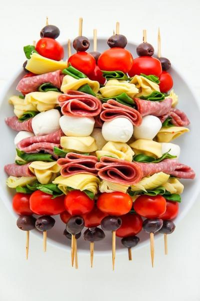 фото бутерброды канапе