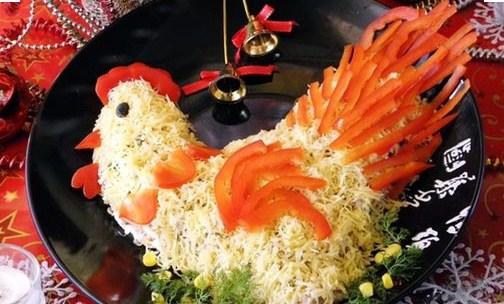 Блюда в Год Петуха