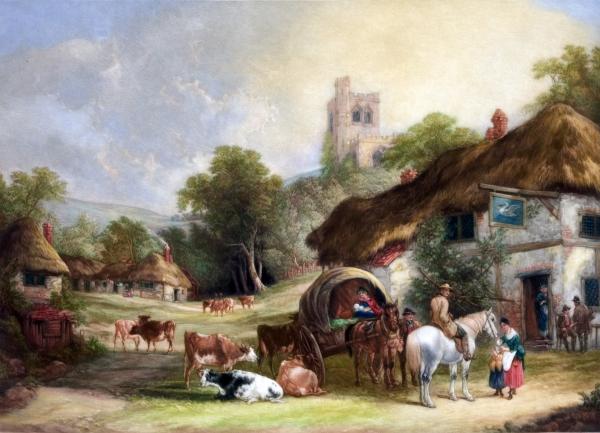 Скотоводство в Англии
