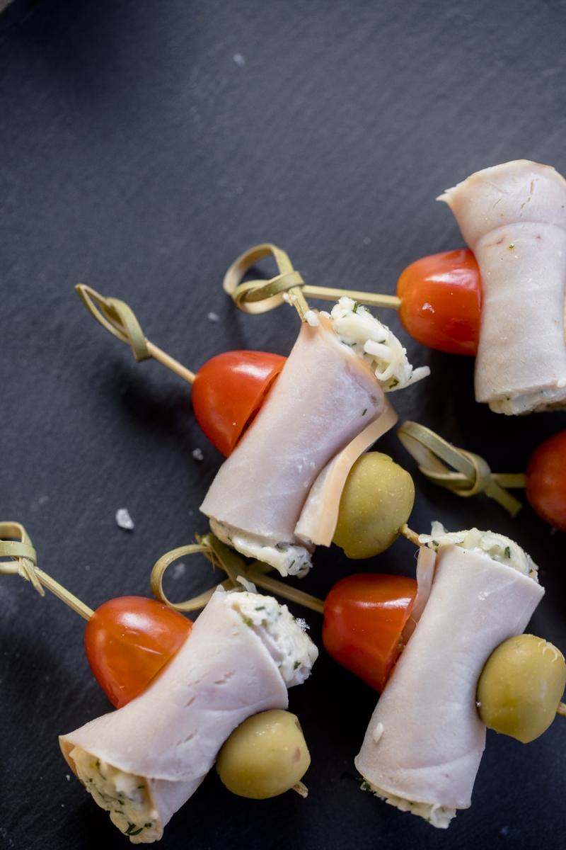 Сырно-ветчинный виточек