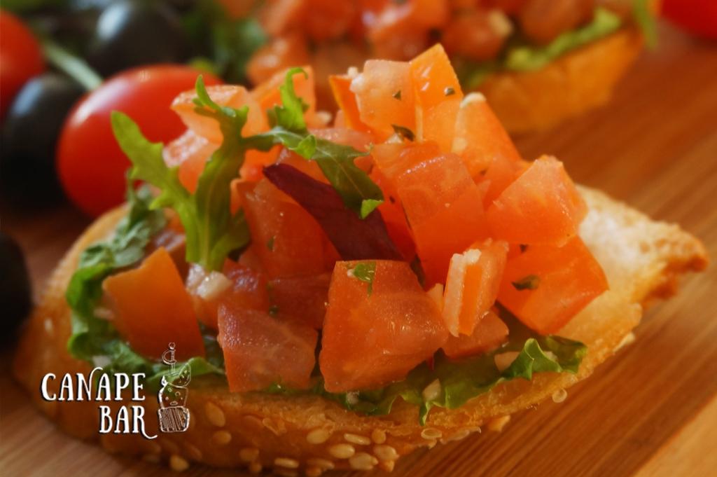 заказать томатную брускетту